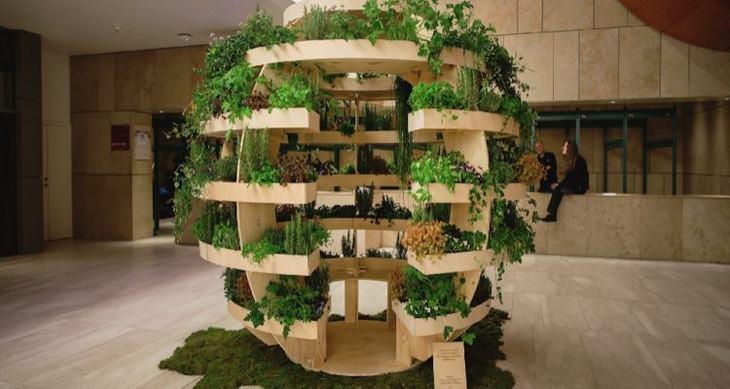 growroom jardim vertical da ikea