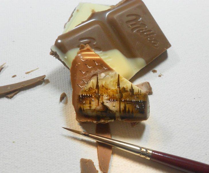A arte minúscula de Hasan Kale é realmente impressionante!