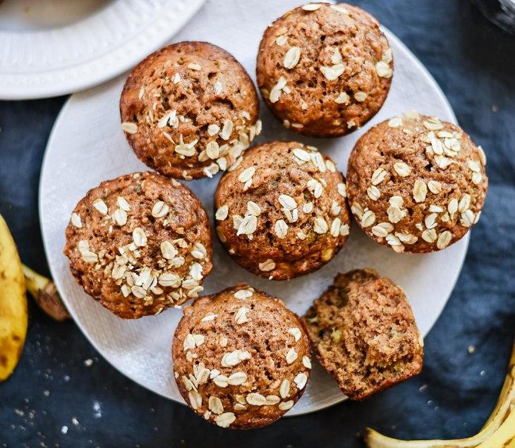 Os muffins de banana mais deliciosos que você já viu!