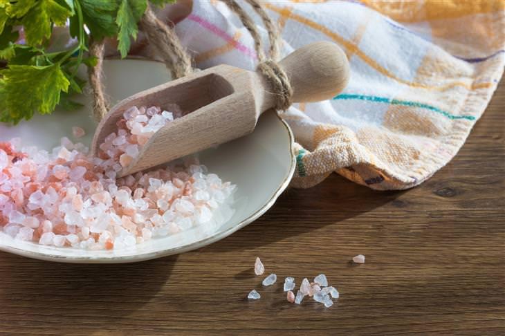 As diversas utilidades alternativas do sal