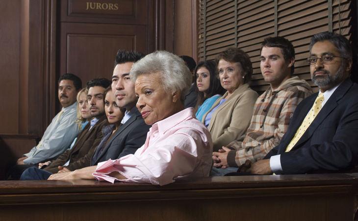 piada de advogado no tribunal