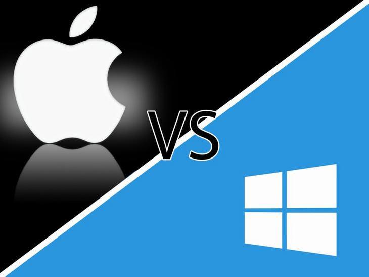 Quais são as principais diferenças entre a Apple e Windows?