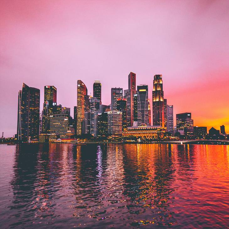Incríveis e belas fotos de Cingapura