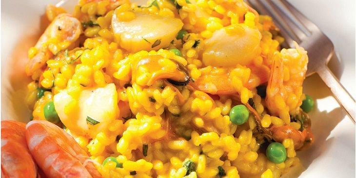 receita de risoto de frutos do mar tudoporemail