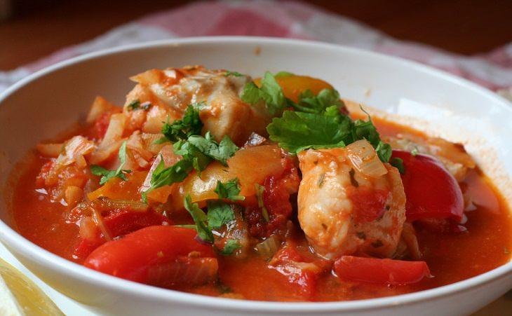 receita de cozido de peixe rápido