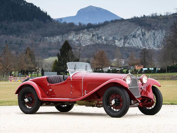 Os carros que são estrelas de RM Sotheby na Villa Erba