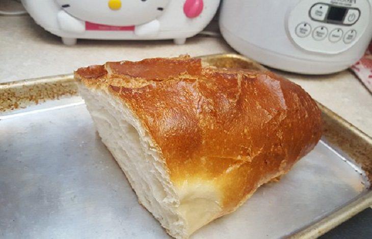 Como fazer um pão duro do outro dia se tornar macio novamente?