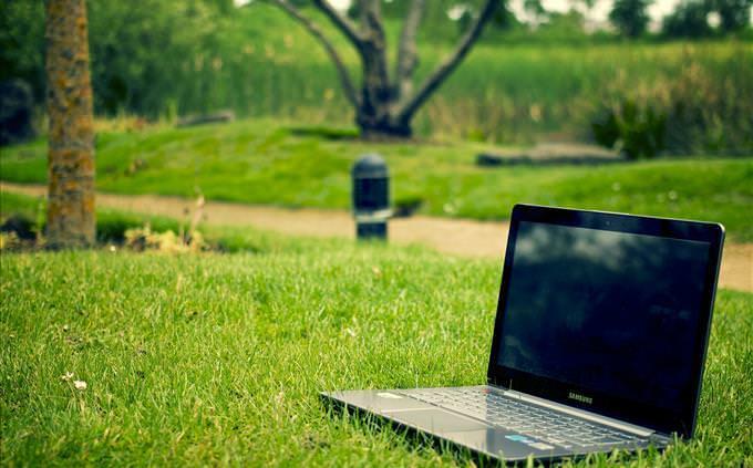 laptop na grama