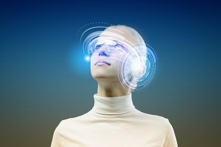 avanços da tecnologia futurística e inteligência artificial