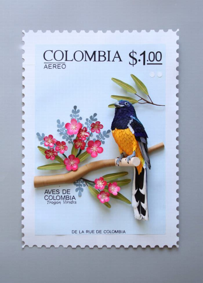 arte os pássaros de papel de diana beltran herrera