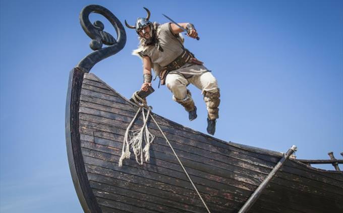 viking no navio