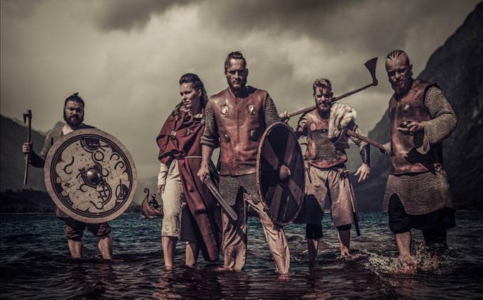 grupo de vikings