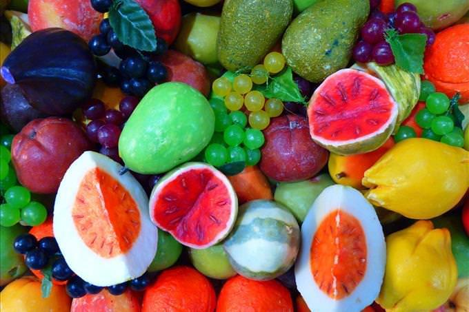 frutas coloridas