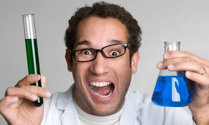 piada de exames trocados no laboratório