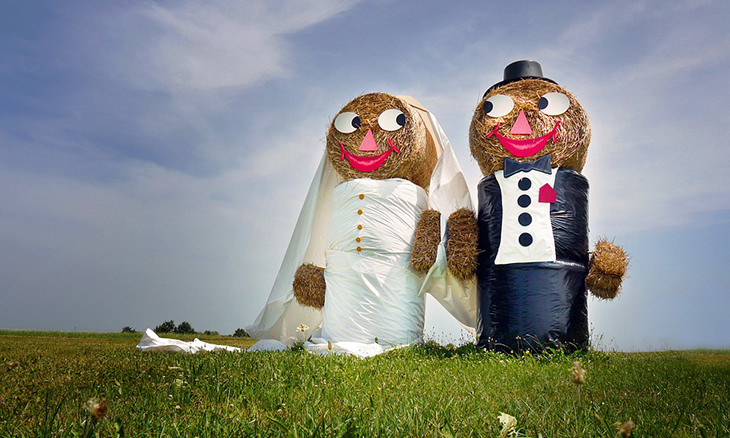piada de noiva
