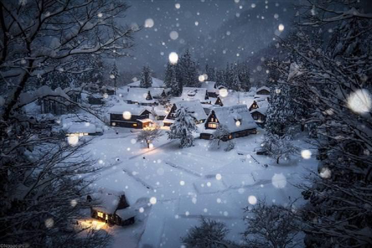 Japão no inverno