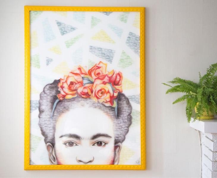 pinturas feitas com batom