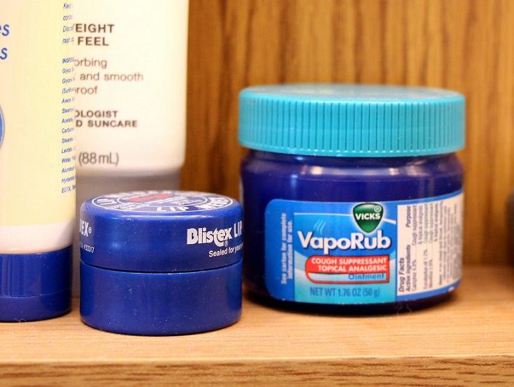 usos do Vick VapoRub