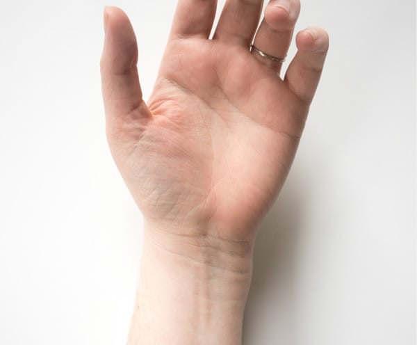 linhas do pulso