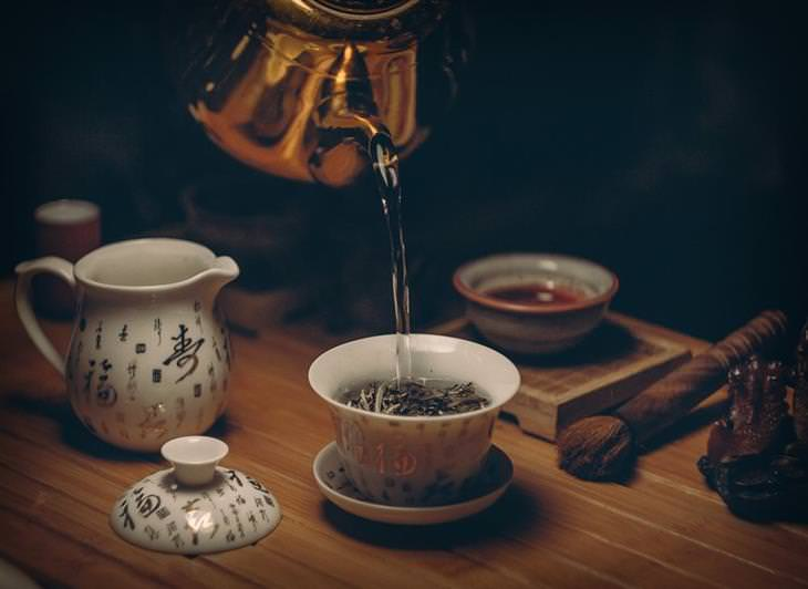 Chás para a sua saúde