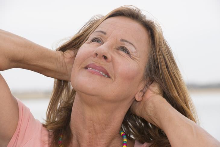 como cuidar da pele do pescoço