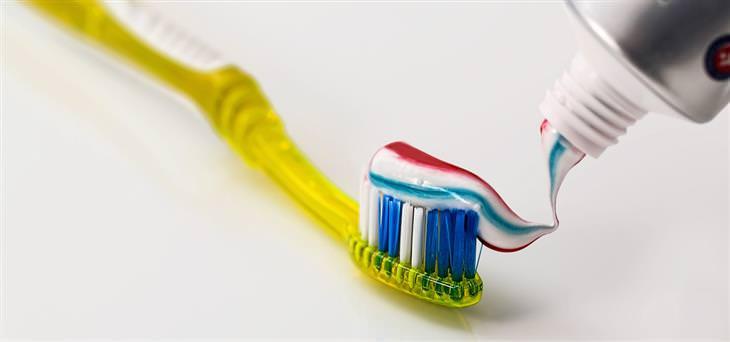 material creme dental