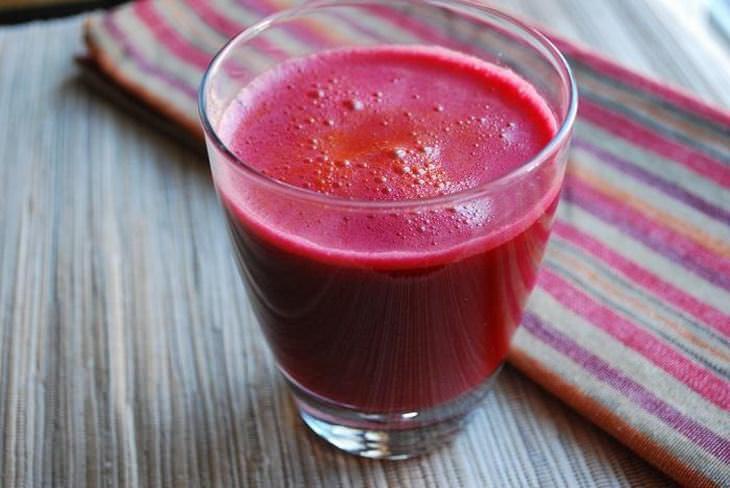 suco de beterraba cenoura e maçã