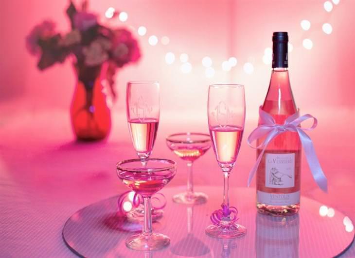 consumir champanhe