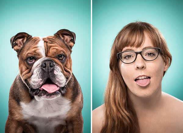 expressões caninas em humanos