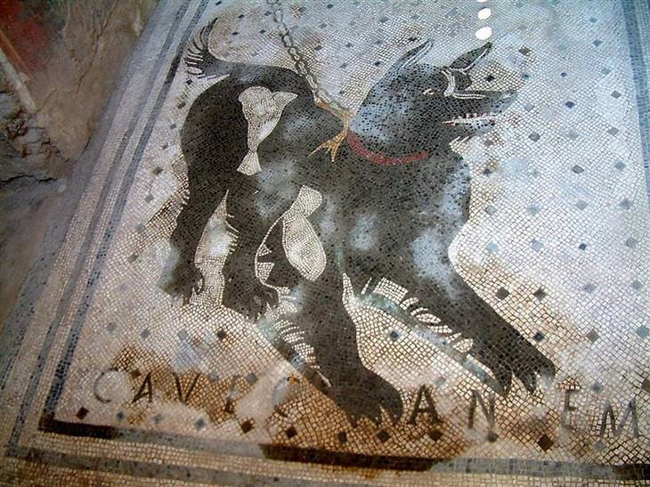mosaicos antigos