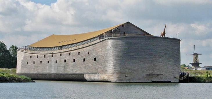 arca de Noé em tamanho real