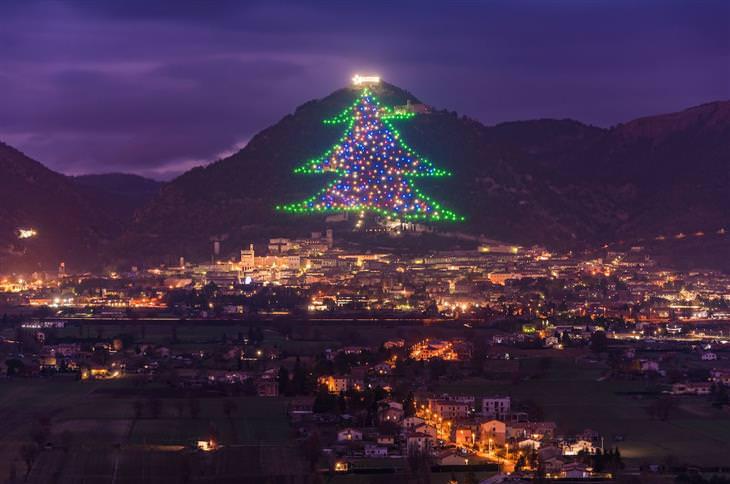 árvores de Natal ao redor do mundo