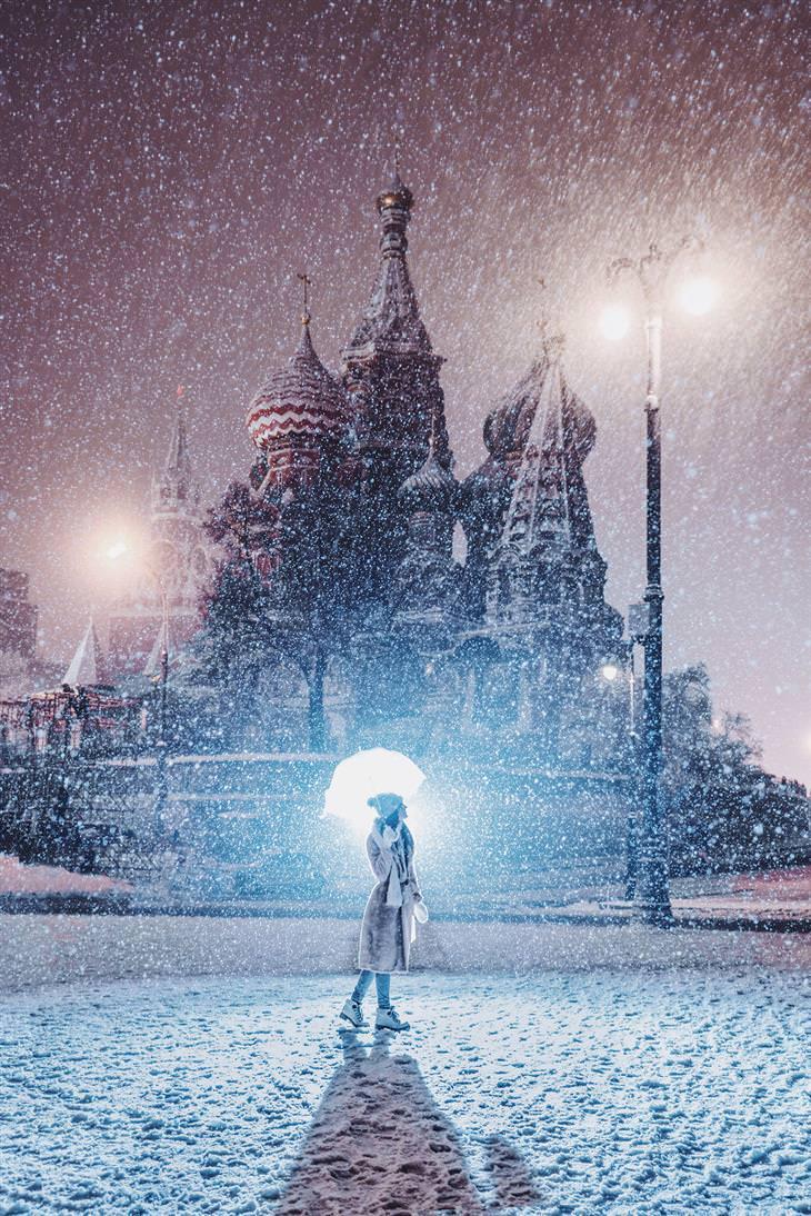 Moscou no inverno