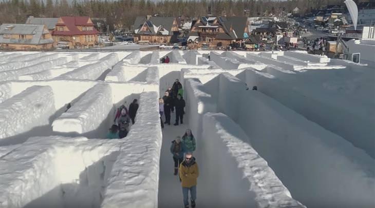 labirinto de gelo