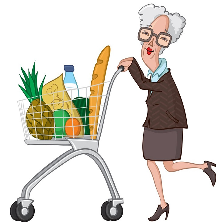 Piada: A vingança da velhinha no supermercado