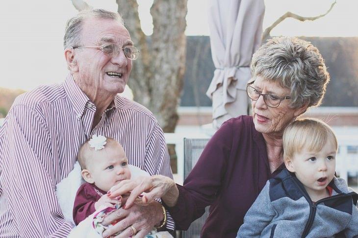 uma emocionante carta dos netos para os avôs