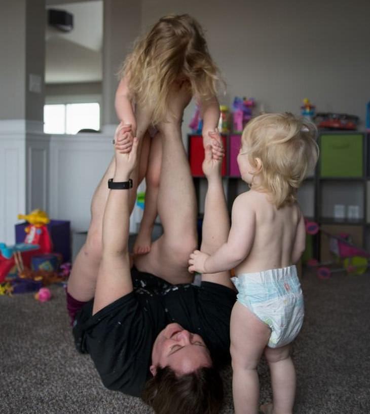 a realidade de ser mãe