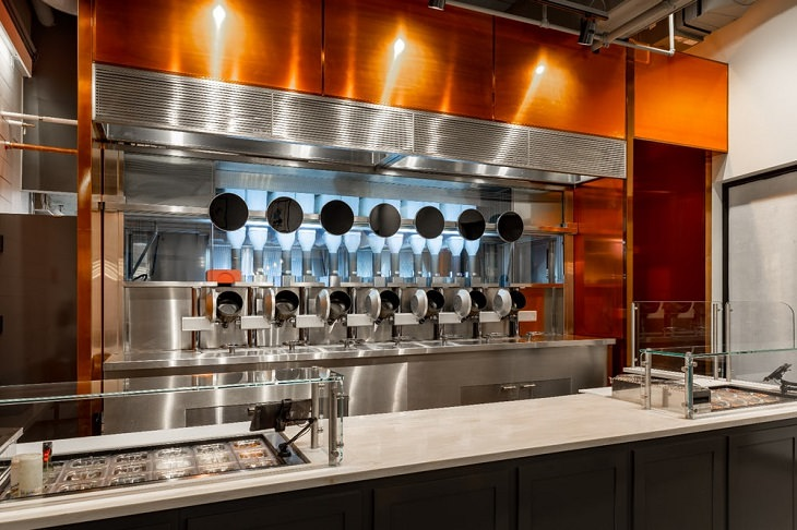restaurante robótico