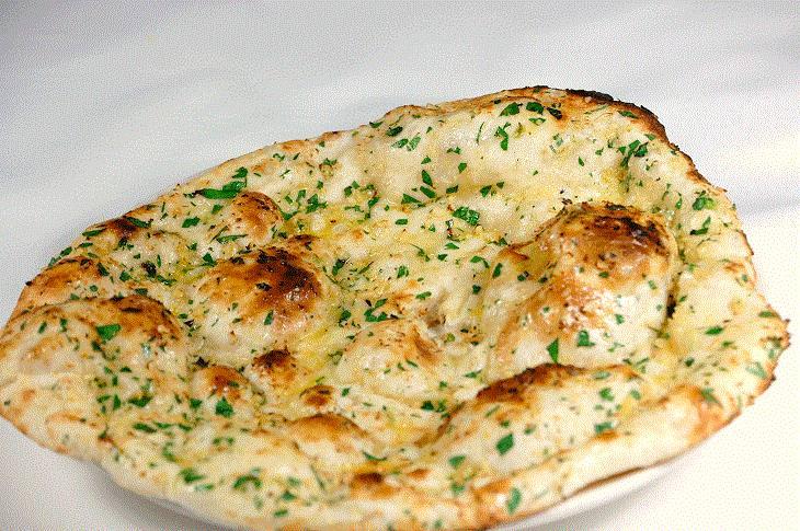 receita de pão naan indiano
