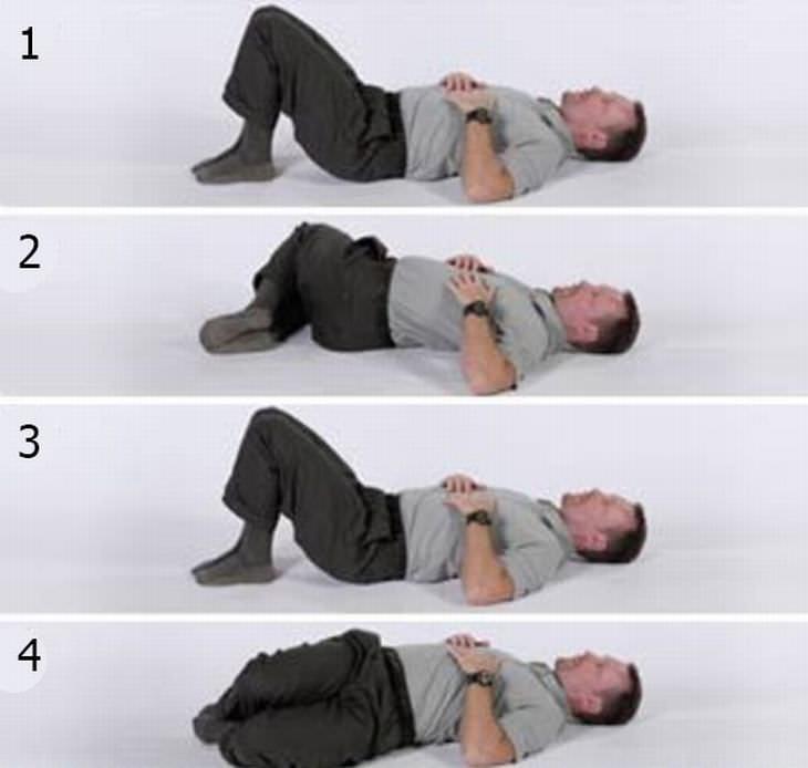 exercício para dor nas costas