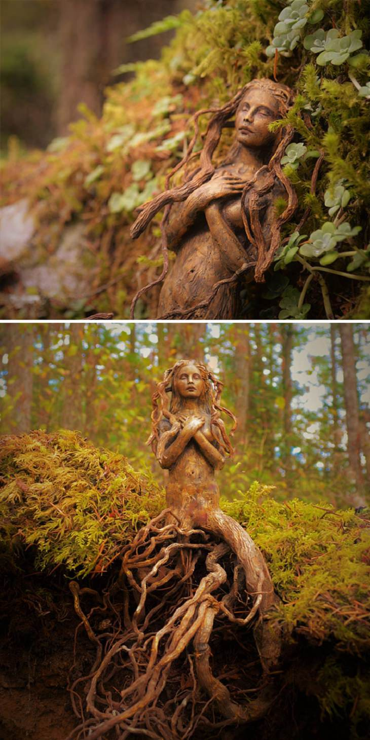 arte no tronco