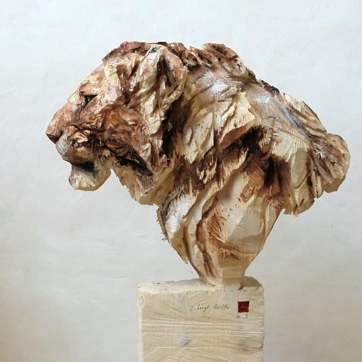 esculturas com motosserra