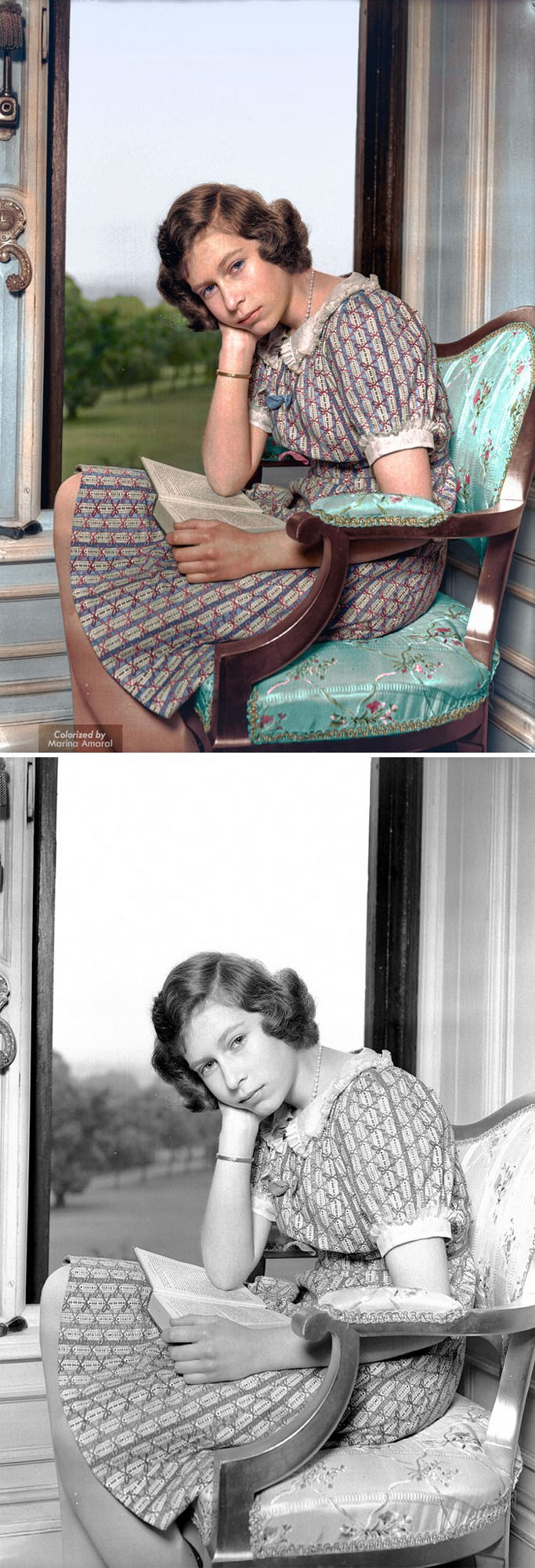 fotos antigas em cores