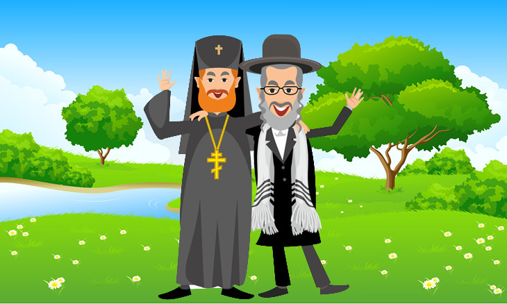 padre e rabino
