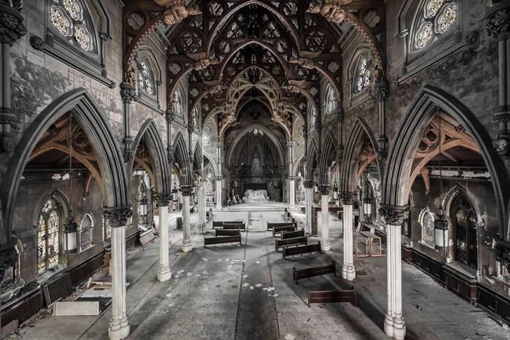 lindos lugares abandonados