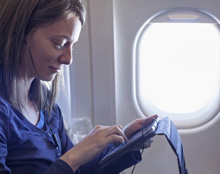 voo confortável