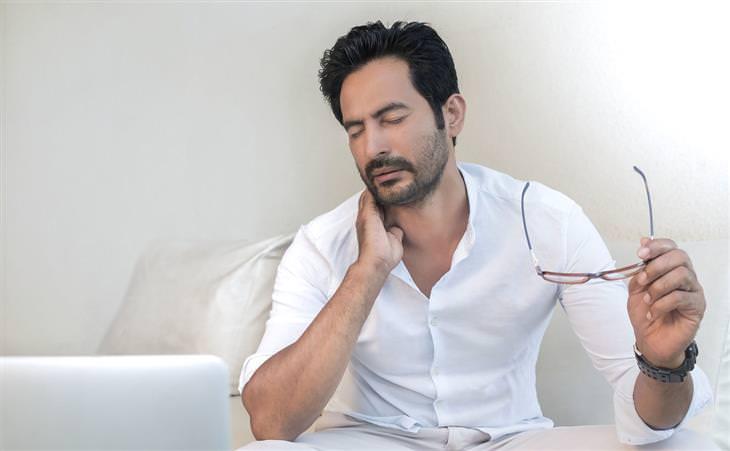 como melhorar dor no pescoço