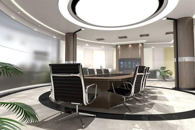 sala de reuniões moderna