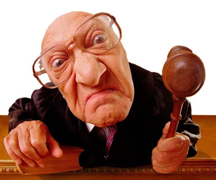 Piada: Juiz honesto