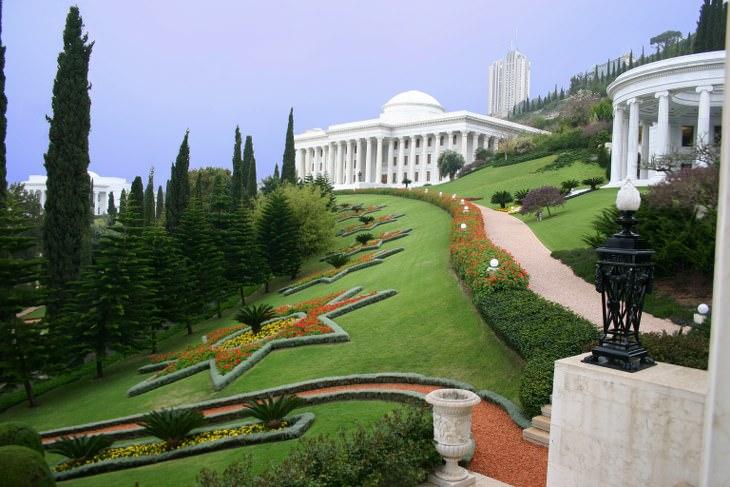 Jardins suspensos de Haifa